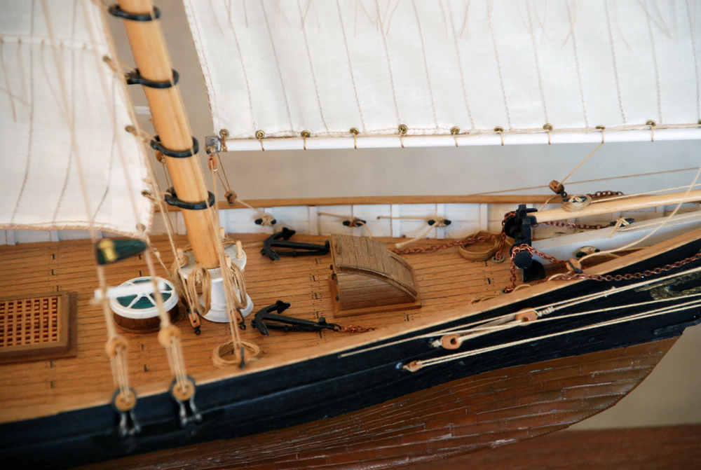 木製帆船模型 ヨット・アメリカ号
