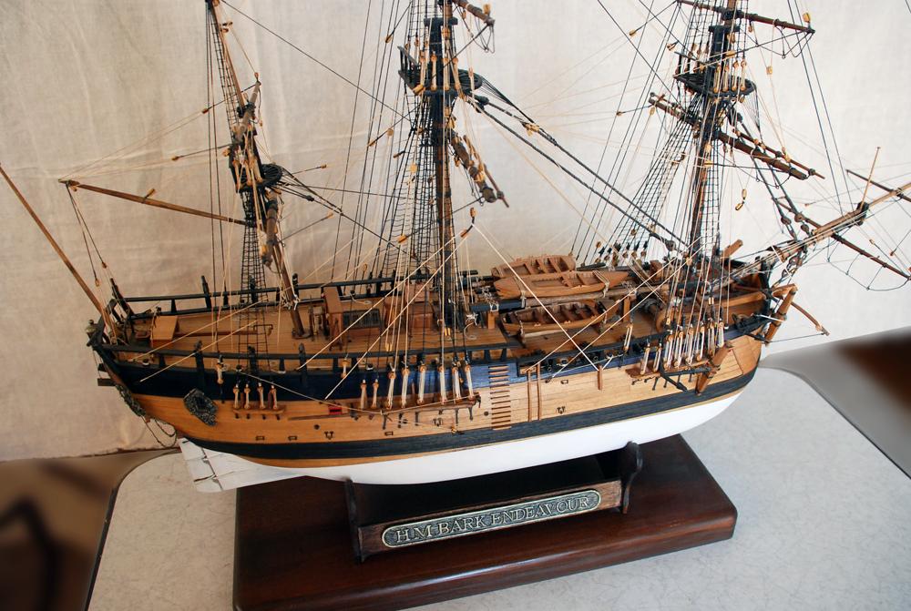帆船模型 エンデバー号 HMB Endeavour